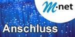 M-net Anschluss - Glasfaser und DSL