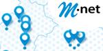 M-net Ausbaugebiet - Orte und Regionen