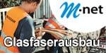 M-net Glasfaserausbau - Highspeed Internet